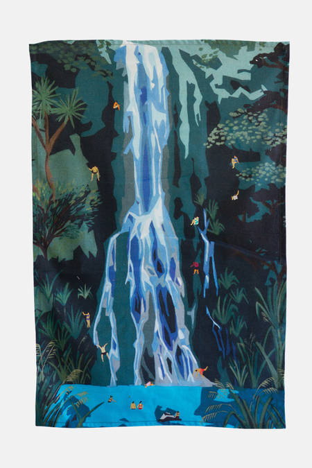 Waterfall Tea Towel