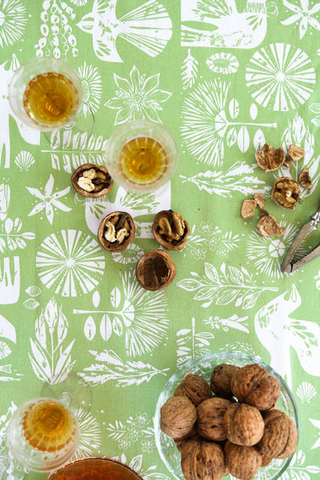 Square Kupe Fern Tablecloth