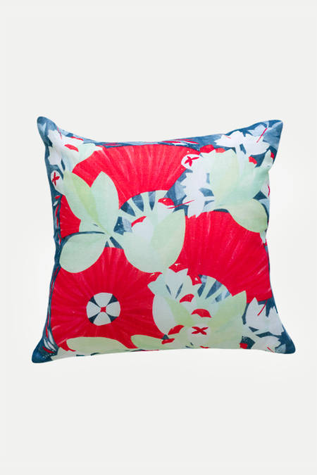 Pohutukawa Dance  linen cushion