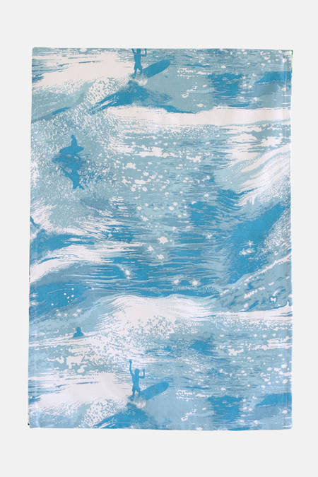 Sea Sparkle Tea Towel