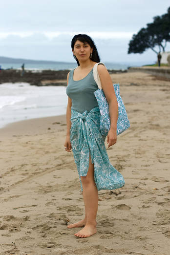 Moana Sarong + Canvas Bag