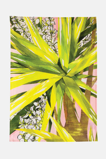Cabbage Tree Tea Towel