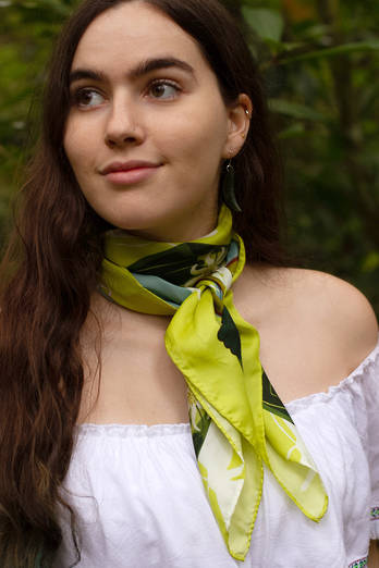 Coromandel Silk Limited Edition Scarf