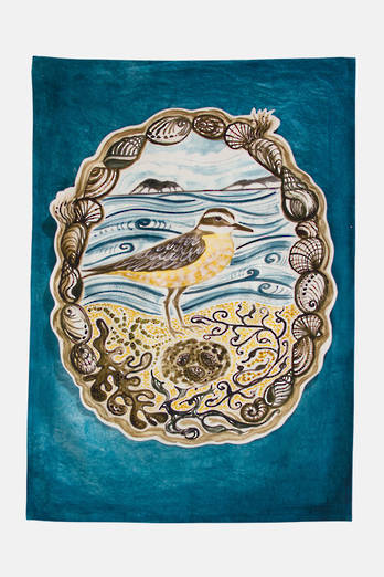 Dotterel Tea Towel