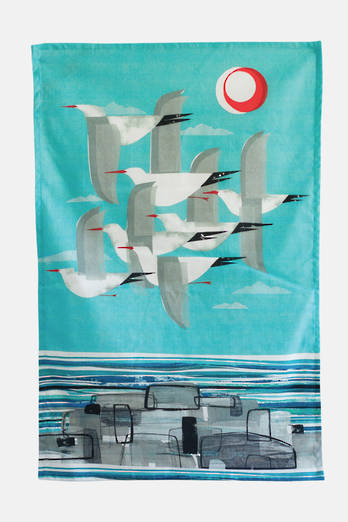 Tarapunga in Flight Tea Towel