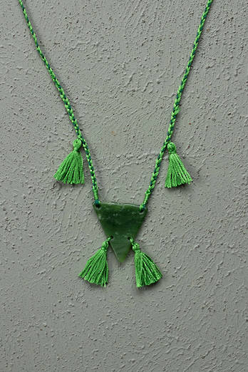 Braided Pounamu Necklace - Ono