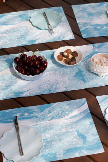 Sea Sparkle placemat set