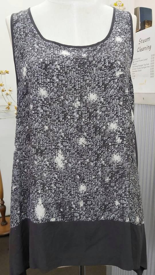 Obi  Sequin Print Tunic