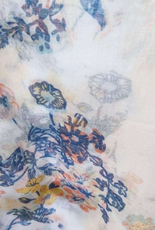 Cornflower Print Scarf