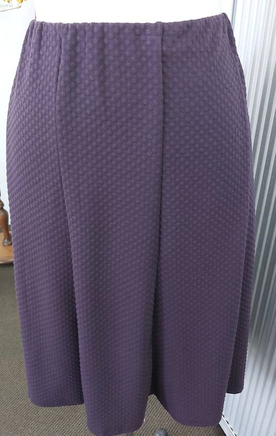 LS Collection Textured 8 Gored Skirt