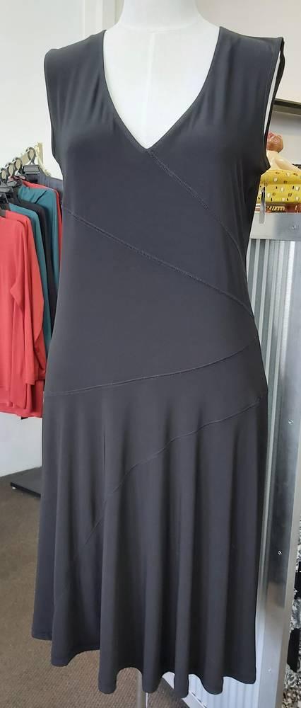 Cashews Sleeveless Tiered Dress
