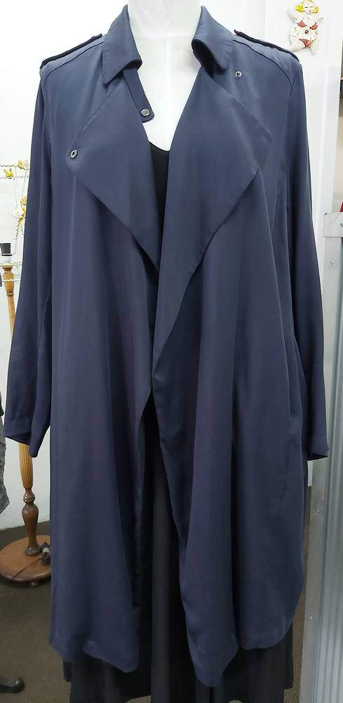 Blue Illusion Summer Trench