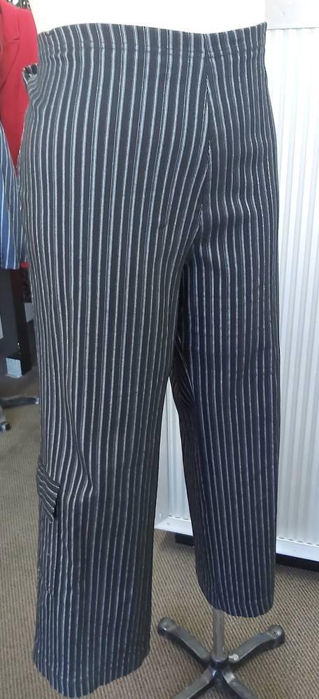 Cashews Wide Leg Stripe Pant