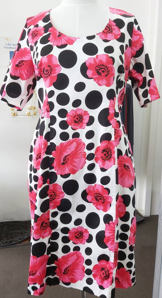Chocolat Floral Summer Dress