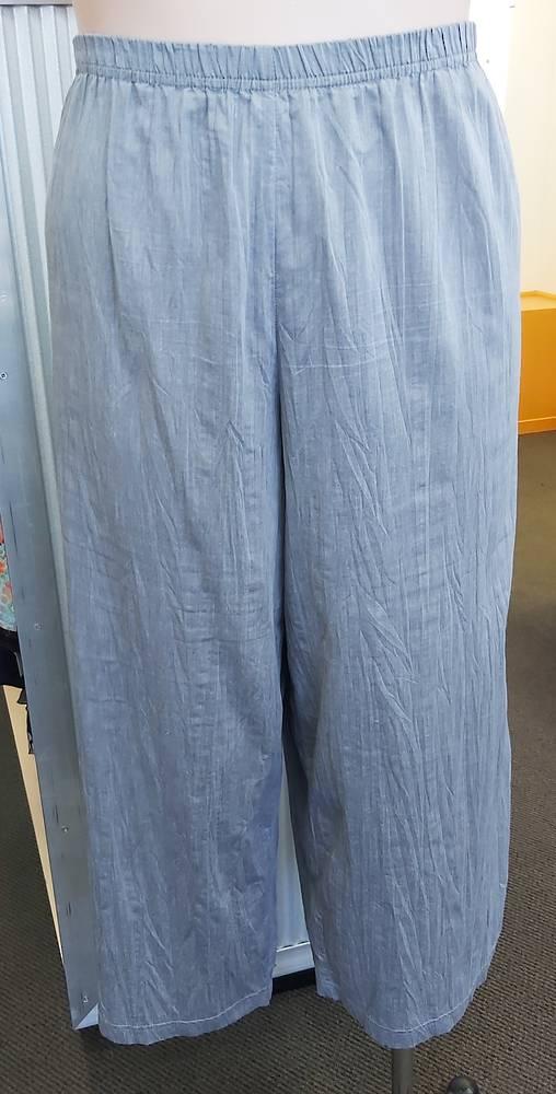 eDesigned  Silver Wide Leg Capri