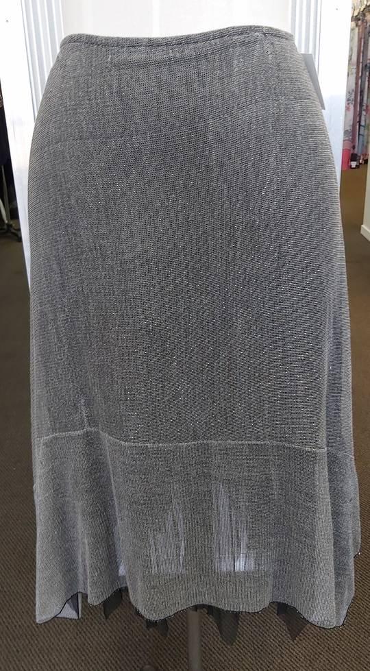 Eclipse Silver Net Skirt