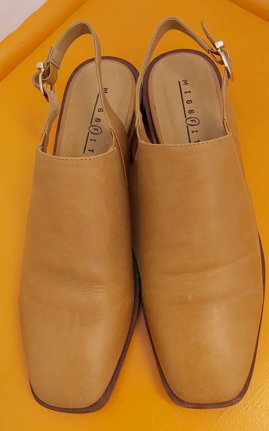 MissFit Tan Sling Back Shoe