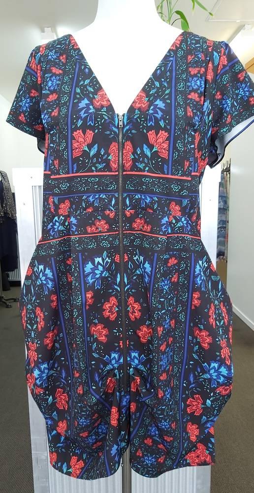 City Chic Zip Front Dress