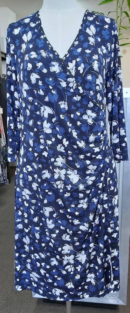Jacki Peters Crossover Dress