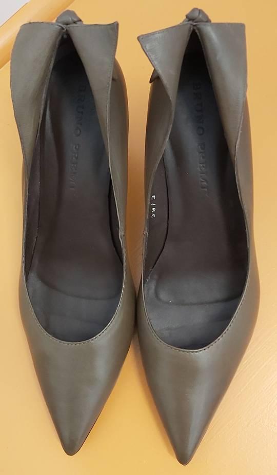 Bruno Premi Coffee Leather Shoes