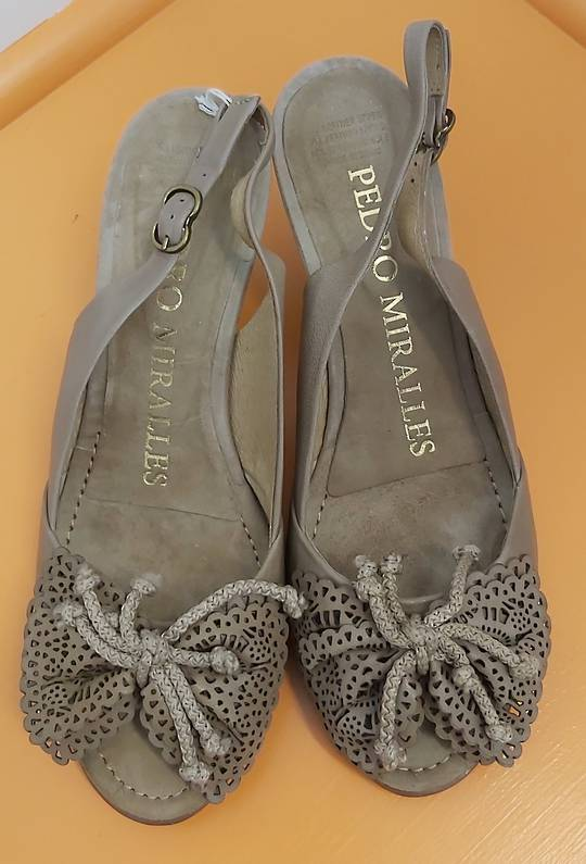 Pedro Miralles Sling Back Shoes