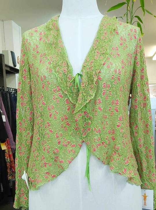 The Carpenters Daughter Lace Cardigan