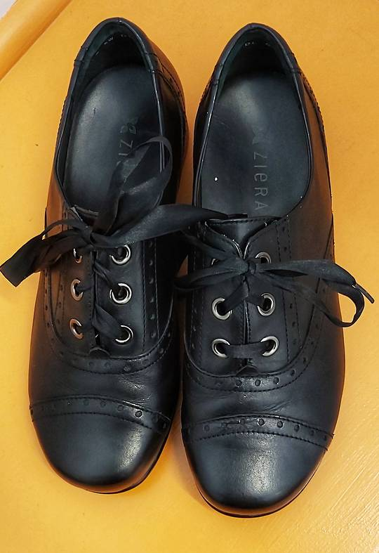 Ziera Lace Up Brogue Shoes