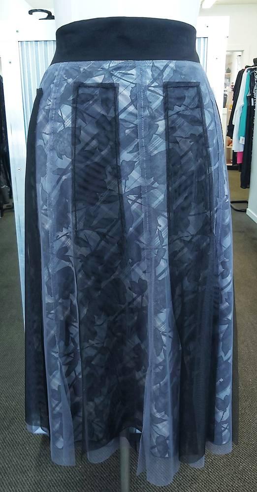Chocolat Net Overlay Skirt