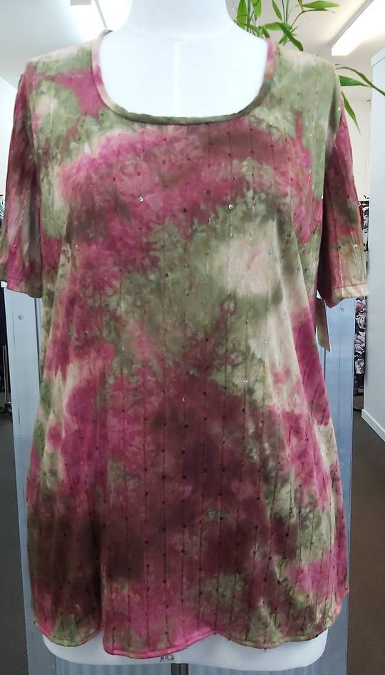 Tailor Made Tie Dyed Top