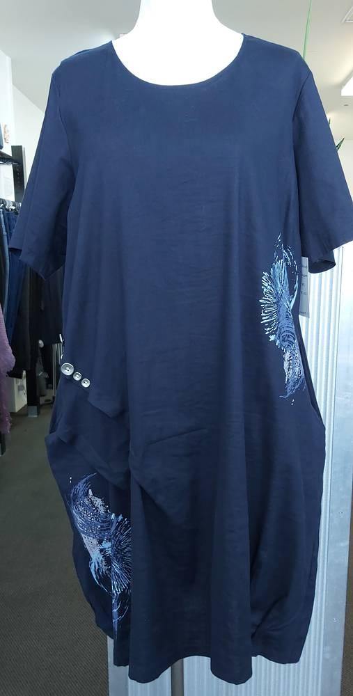 Taking Shape Linen Tuck Dress