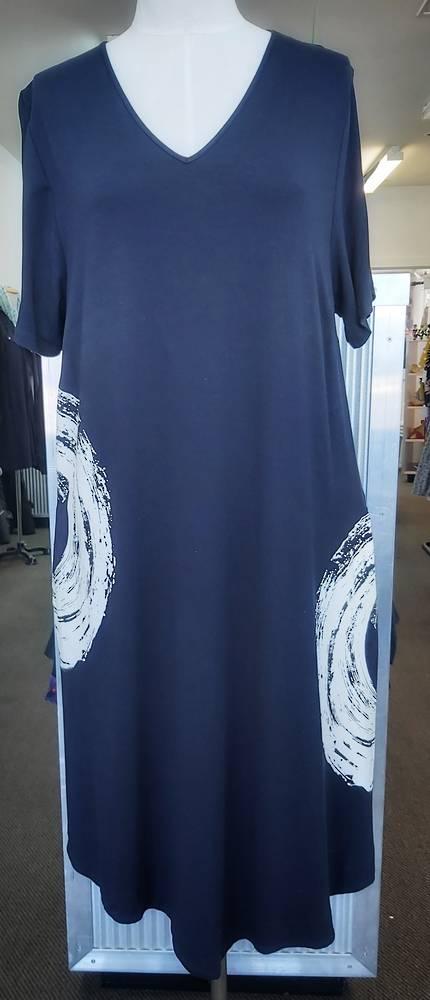 Taking Shape Pocket Tee-Shirt Dress
