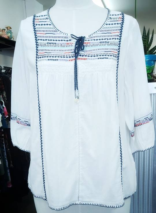 Joe Browns Embroidered Cotton Top