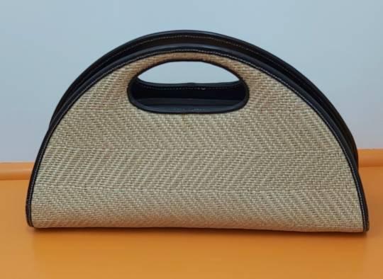 Cellini Rattan Weave Bag