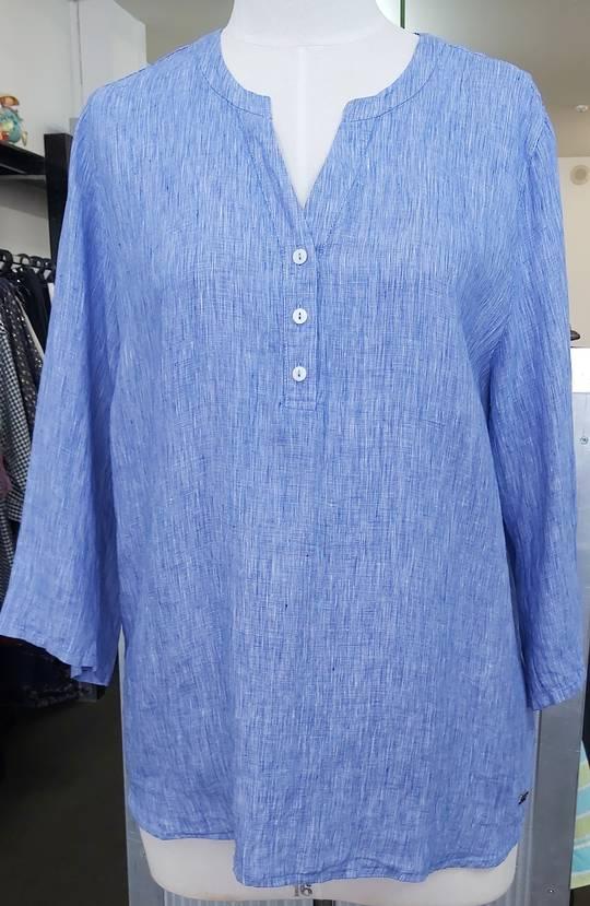 Line 7 Linen Grandpa Shirt