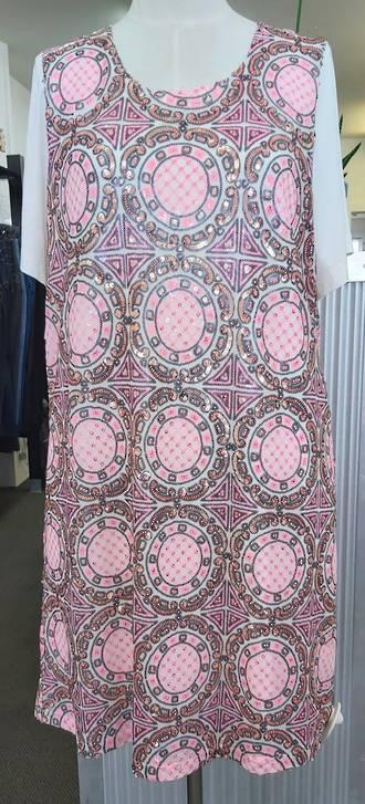 Dressing Room Lined Sequin Dress