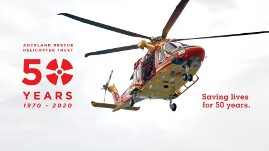 50th Anniversary - westpac rescue helicopter