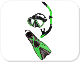 Mares Bonito / X one Snorkeling Set
