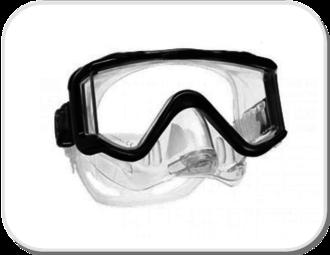 Scubapro Crystal VU Purge Mask