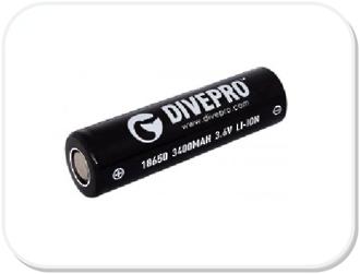 Dive Pro CR18650 Battery