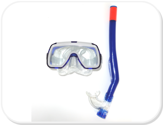 Kids Mask and Snorkel Set