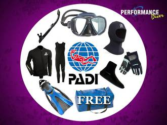 PADI Open Water Course PACKAGE SPECIALS!