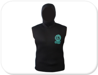 Genesis Hooded Vest 3mm