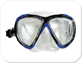 Pro Dive Prescription Mask