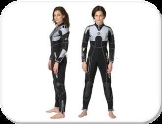 Waterproof W4 7mm Semi-dry - Womens