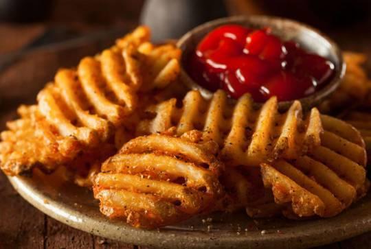 Fries Crisscut