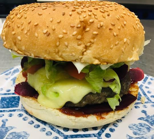 Kiwi Beef Burger