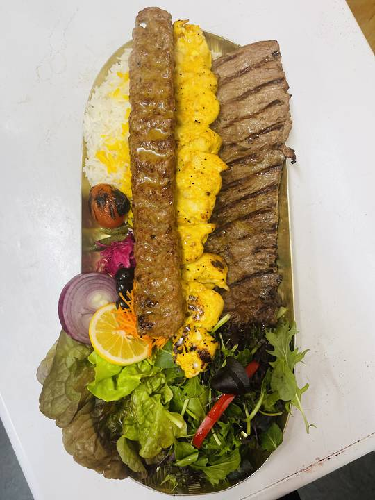 Akdeniz king Plate کینگ آکدنیز