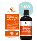 Kiwiherb Children's Organic Lung Clear Syrup