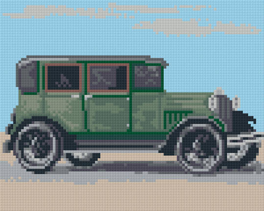 Model A Ford Four [4] Baseplate PixelHobby Mini-mosaic Art Kit