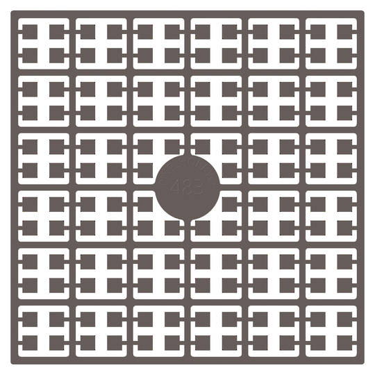 Pixel Square Colour 483